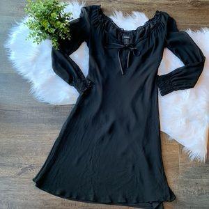 Express silk dress
